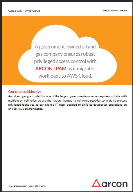 ARCON PAM-AWS Case Study