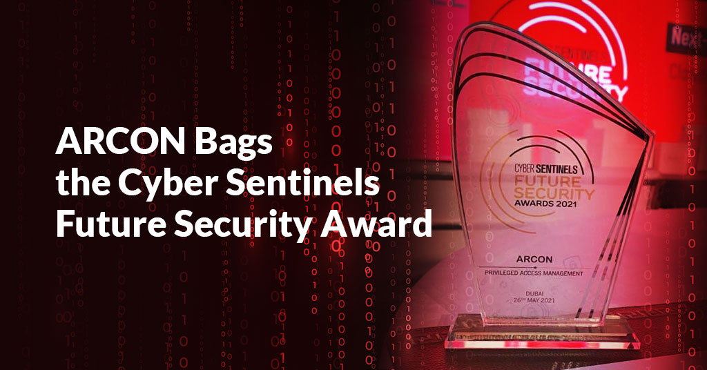 ARCON Bags the Cyber Sentinels Future Security Award