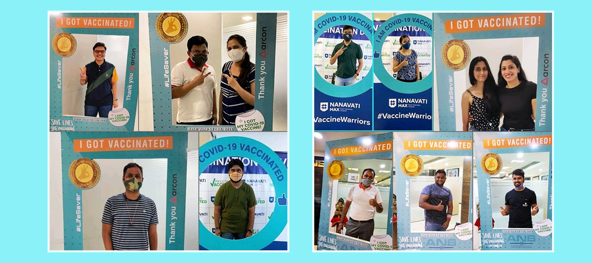 ARCON organizes Covid-19 Vaccination drive for all employees
